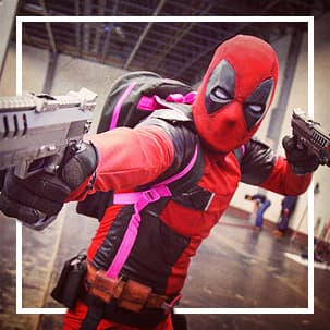 Fantasias Deadpool