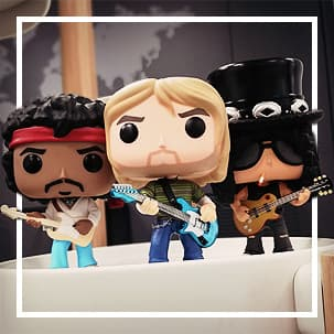 Rock en Metal Funko Pop!
