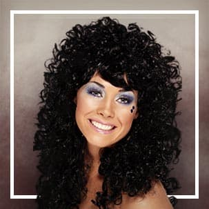 Brunette & Black wigs