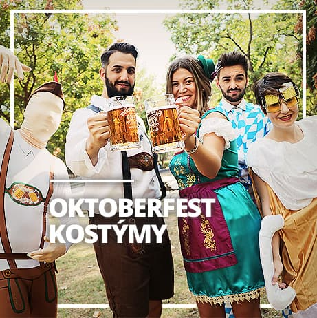 Kostýmy pro Oktoberfest