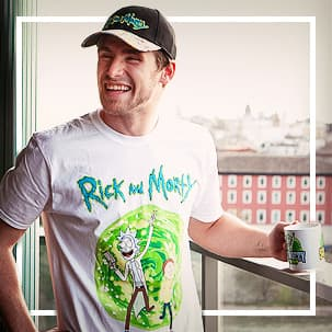 Camisetas de Rick & Morty