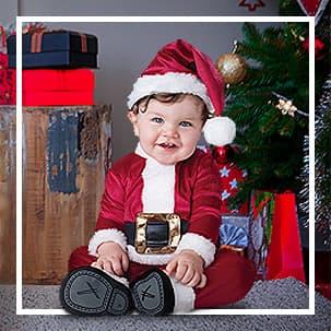 Père Noël pour bébés