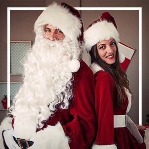 Disfraces de Santa Claus
