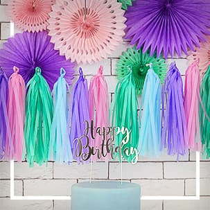 Fringe Garlands