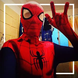 Spiderman pakken