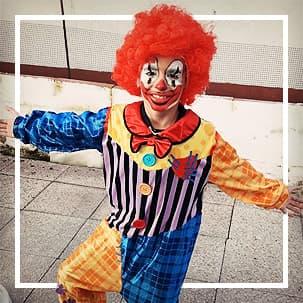 Clown und Zirkus