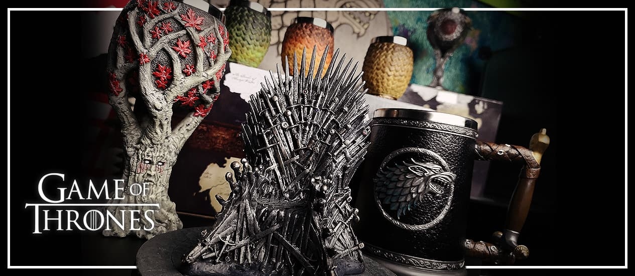 Game of Thrones gaver og Merchandise (GOT)