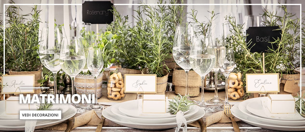 Decorazione Matrimonio