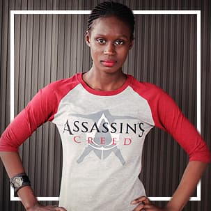 Camisetas de Assassin's Creed