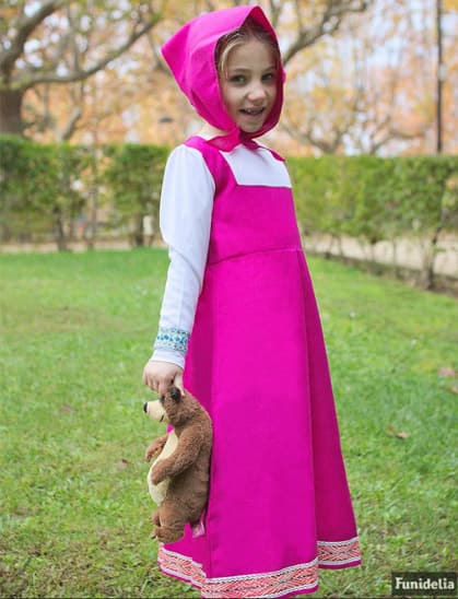 Official Masha And The Bear Costumes Funidelia