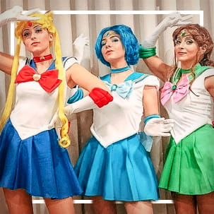 Sailor Moon kostuums