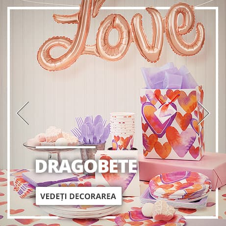 Decorațiuni Valentine's Day & Dragobete