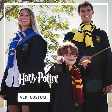 Costumi di Harry Potter per adulto e bambino