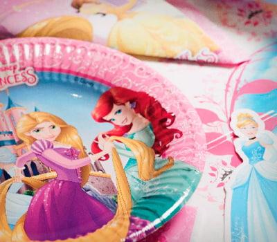 Cumpleaños Princesas Disney