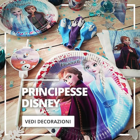 Decorazioni da Principesse Disney