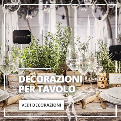 Decorazione da tavolo Matrimonio