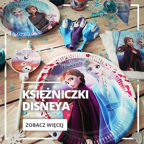Dekoracja Księżniczki Disneya