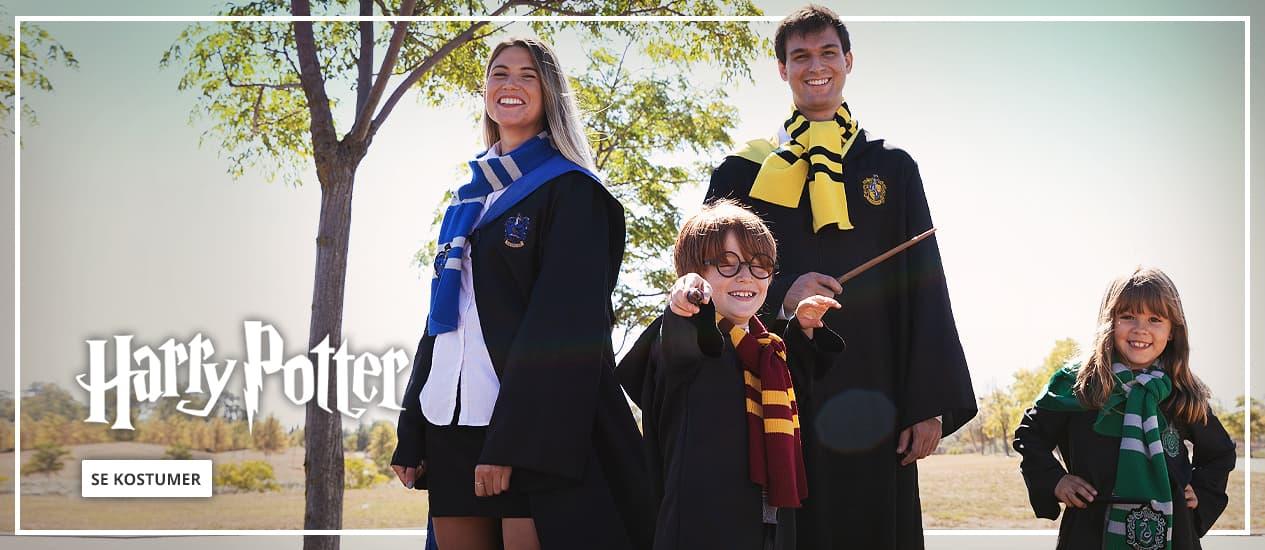 Harry Potter Kostumer: udklædning til børn og voksne