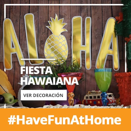 Decoración de Fiesta Hawaiana