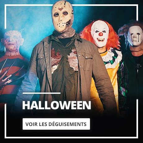 Halloween: Déguisements, Accessoires et décoration