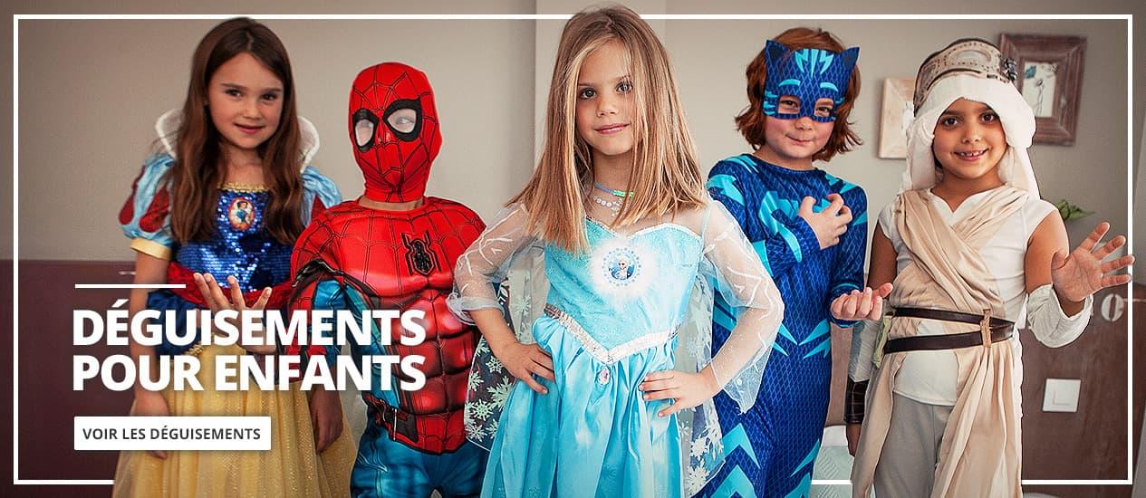Déguisements enfants. Carnaval costumes pour enfants originaux