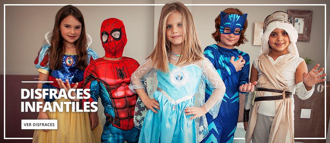 Disfraces para niños y niñas. Trajes infantiles originales