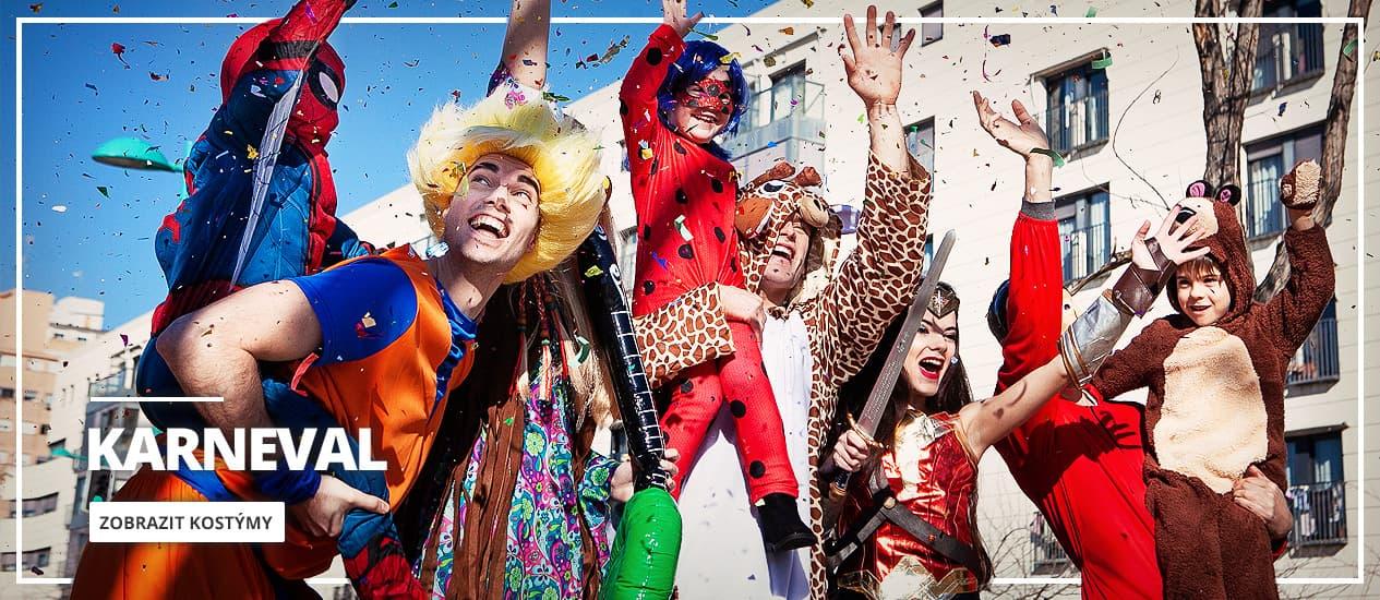 Originální karnevalové kostýmy 2021 pro ženy, muže i děti