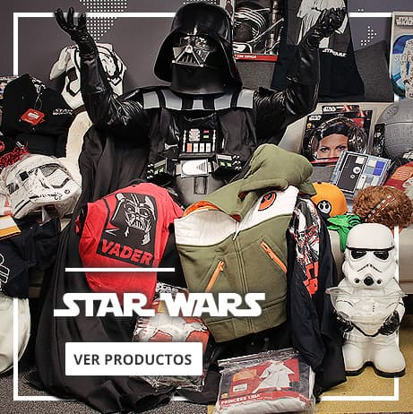 Disfraces, decoración y merchandising de Star Wars