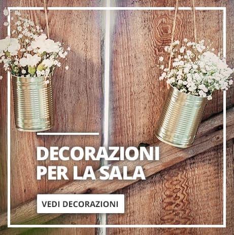 Festoni e decorazioni pendenti Matrimonio