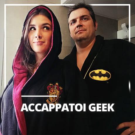 Accappatoi geek