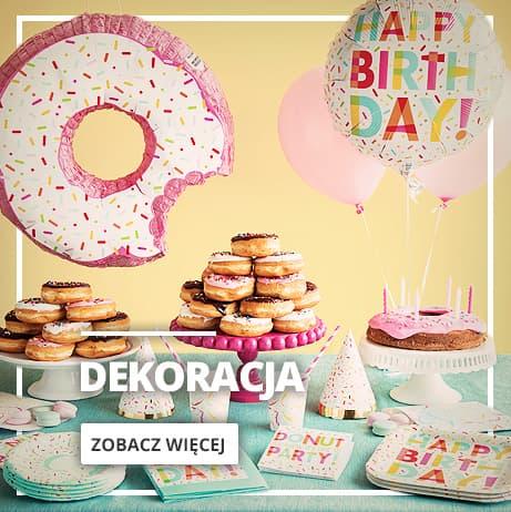 Dekoracje na urodziny i imprezy tematyczne
