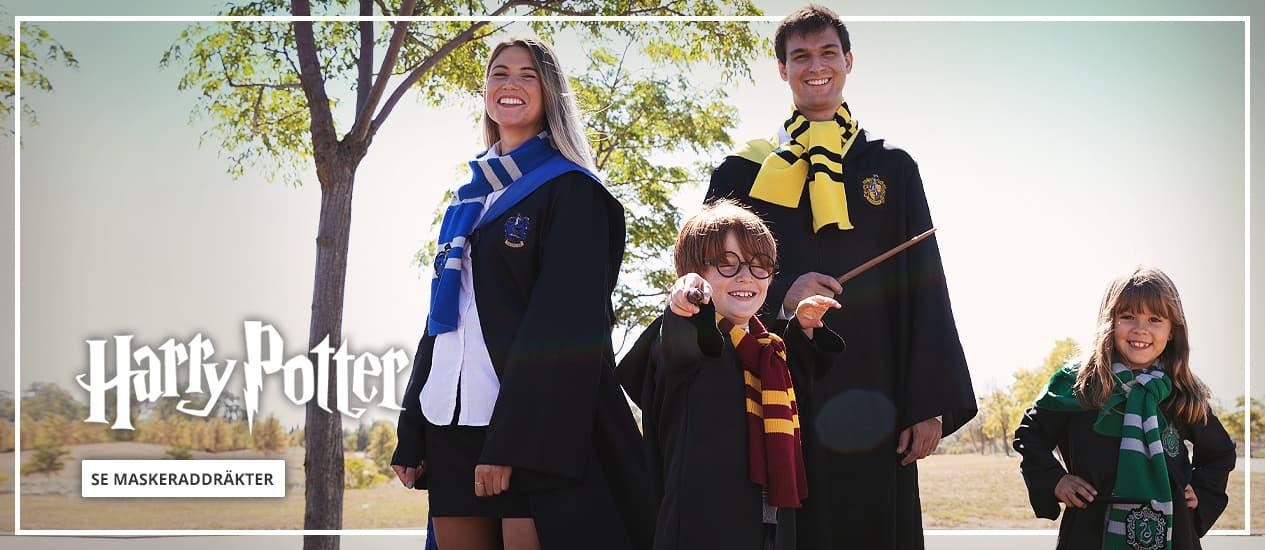 Harry Potter dräkter til Barn och Vuxen