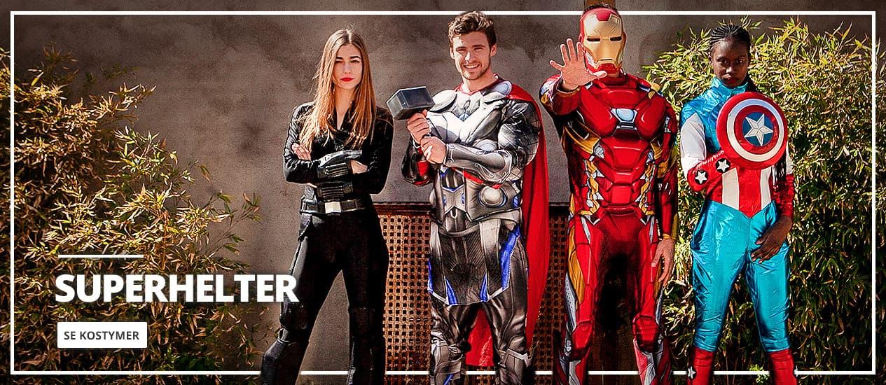 Superhelter Kostymer