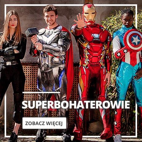 Stroje superbohaterowie i przestępcy