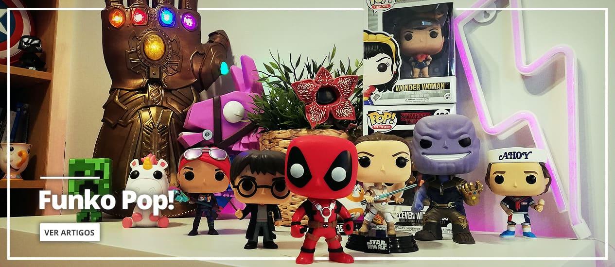 Funko Pop! e bonecos Pop!