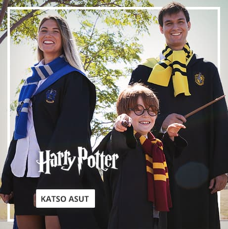 Harry Potter -asut: Viittoja, Kaapuja ja paljon muuta