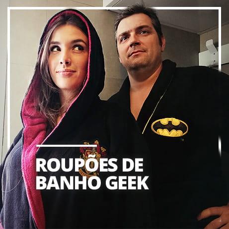 Roupões de Banho Geek