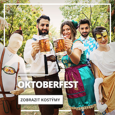 Oktoberfest kostýmy Tyrolské a bavorské outfity