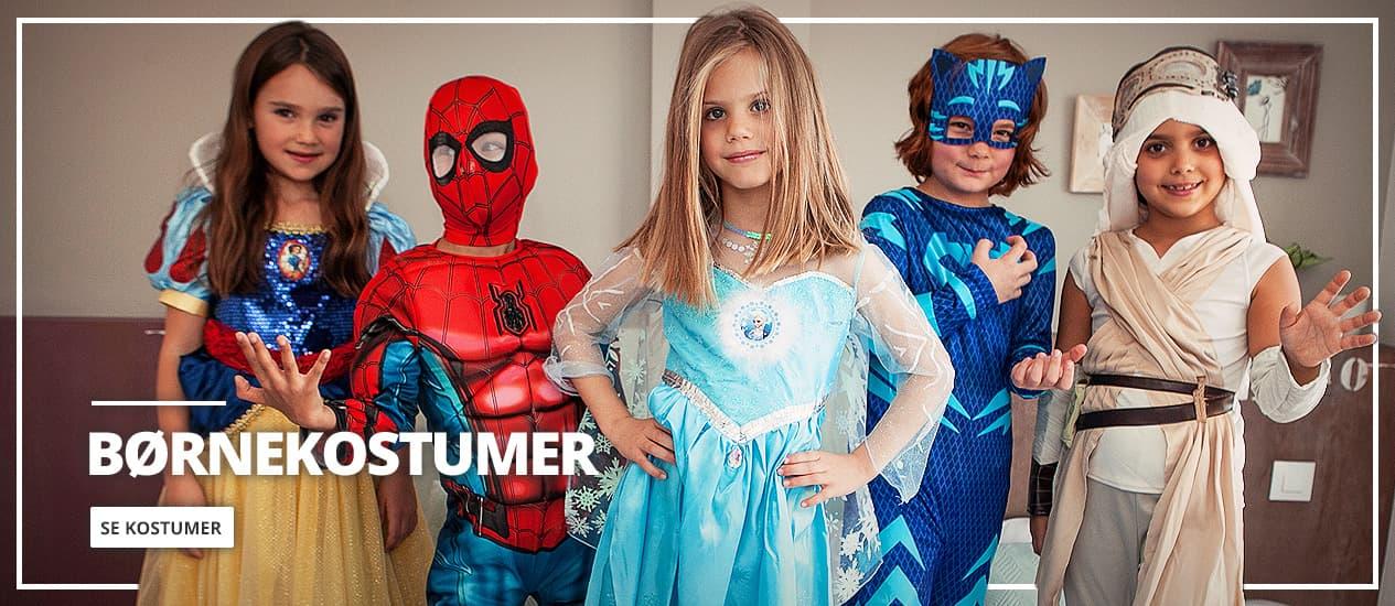 Børne kostumer