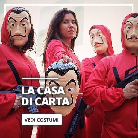 Costume La Casa di Carta e Maschera de Dalí