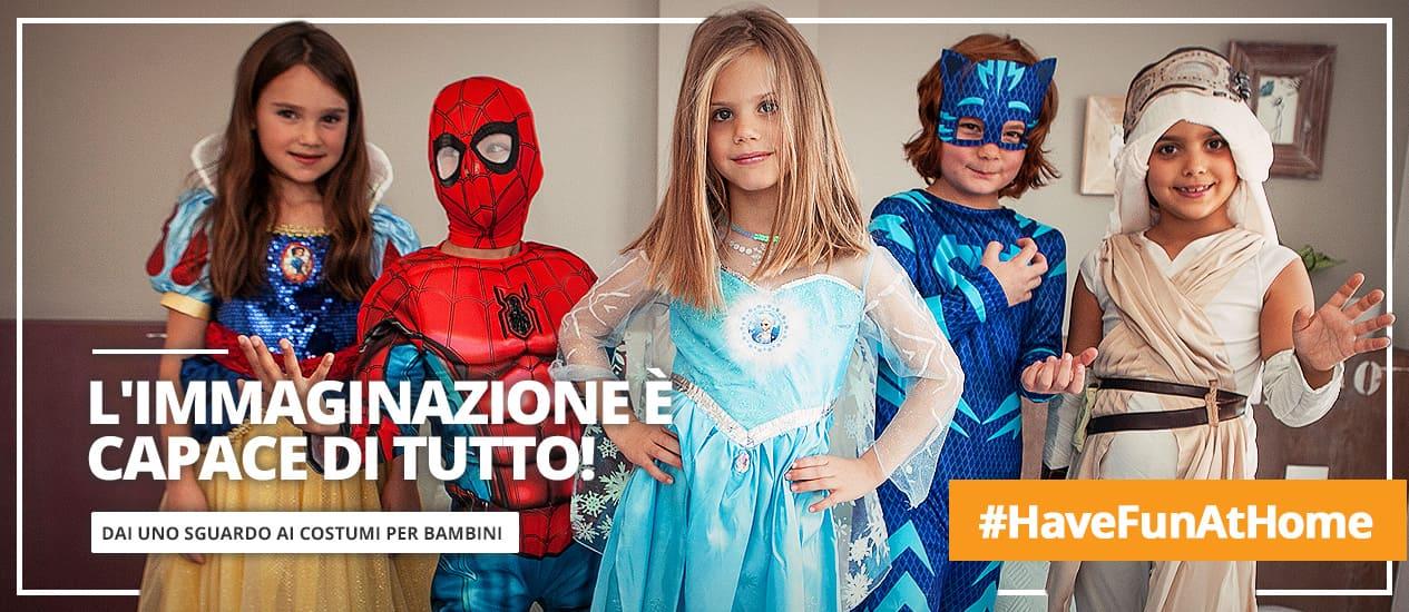 Costumi per bambino e bambina originali