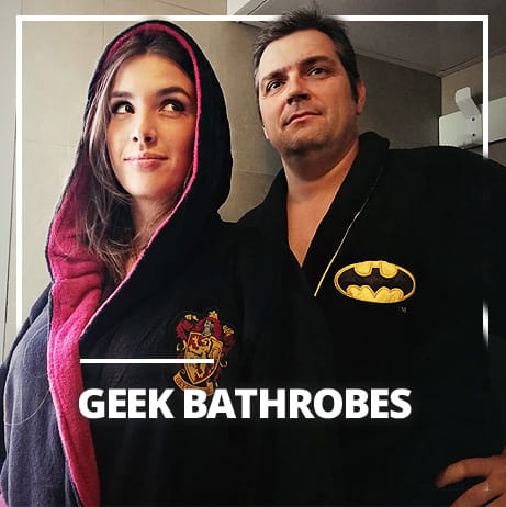 Geek bathrobes