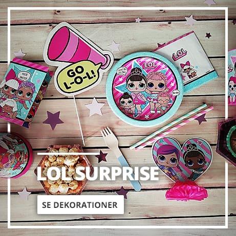 LOL Surprise Fest & Dekorationer
