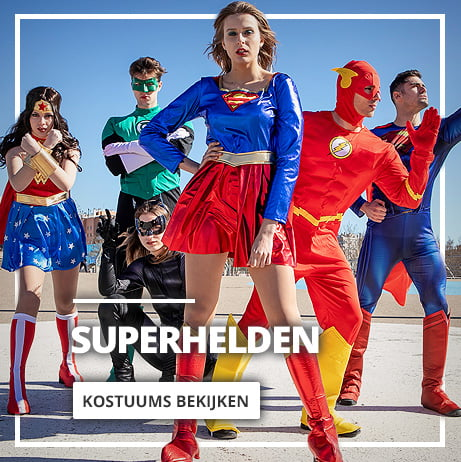 Superhelden kostuums & Schurken pakken