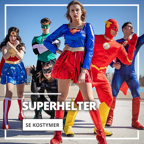 Superhelt & Skurke Kostymer