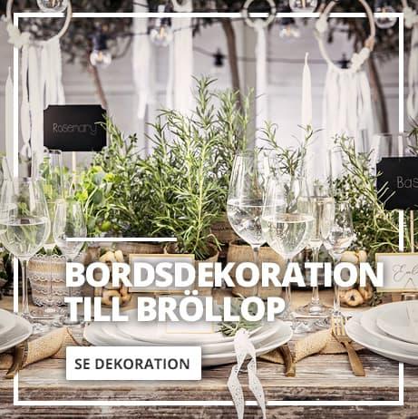 Bröllop Bordsdekorationer