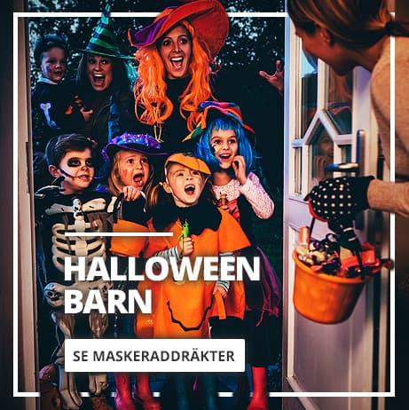 Maskeraddräkter Halloween för barn