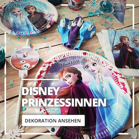 Disney Prinzessinnen Deko