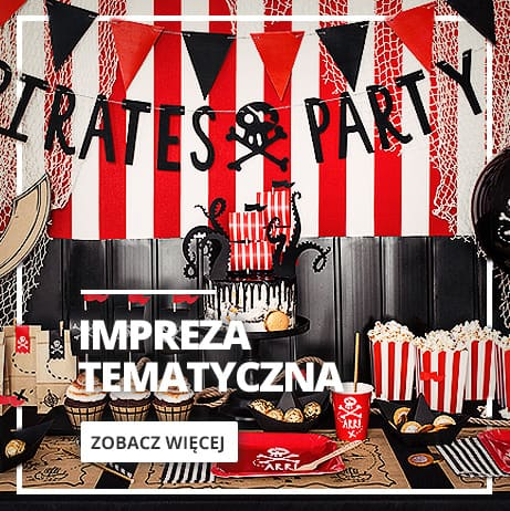 Impreza i dekoracja Piraci