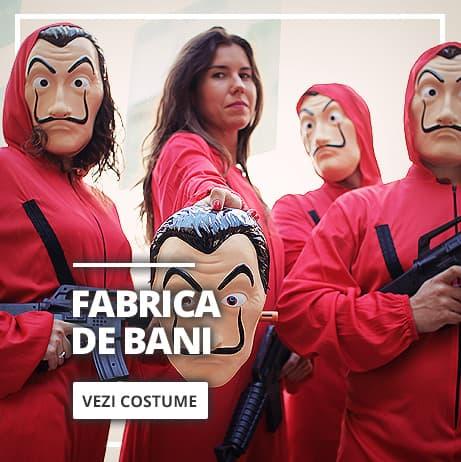 Costume la Casa de Papel și Măști Dali